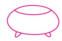金鱼缸简笔画图片大全、教程