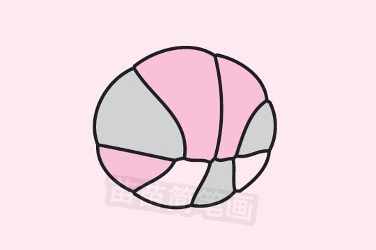 篮球简笔画图片大全作品二