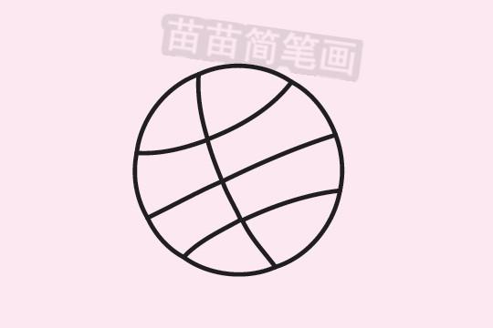 篮球简笔画图片大全作品三