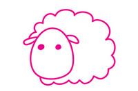 绵羊简笔画图片大全、教程