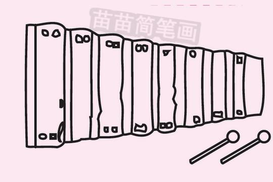 木琴简笔画图片大全作品三
