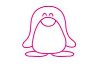 企鹅简笔画图片大全、教程