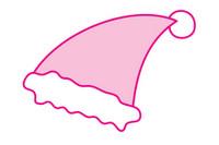 圣诞帽简笔画图片大全、教程