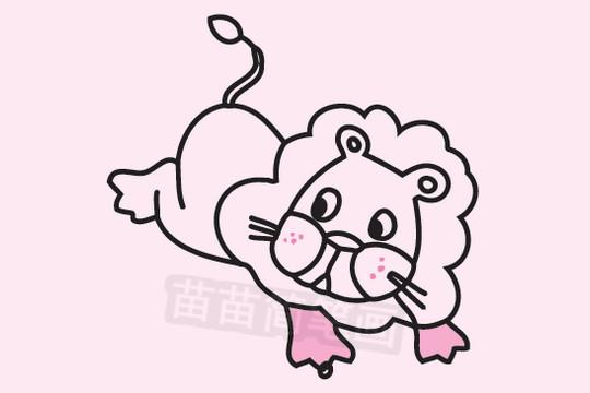 狮子简笔画图片大全 教程