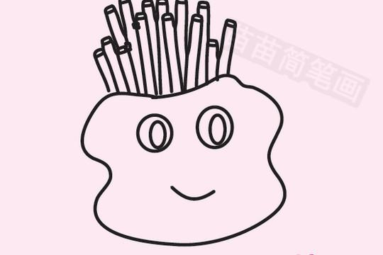 薯条简笔画图片大全 教程
