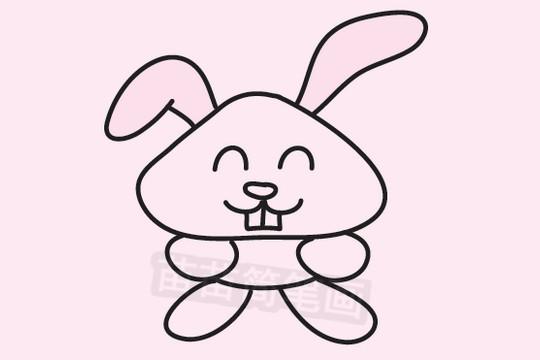兔子简笔画图片大全作品二