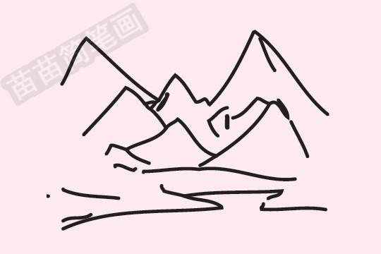 """雪山简笔画图片大全作品四 雪山小知识:雪山在泰雅语中也称""""Sekoan"""",意为""""碎石与裂缝"""",汉语音译为""""雪翁山"""",此称可能就是雪山之名的来源。1867年,曾有英国军舰Shiluvia号行经台湾海域,据说船长以目视发现高耸的雪山,便将山以船命名为""""Shiluvia"""",在早期的西方文献中便以Mt."""