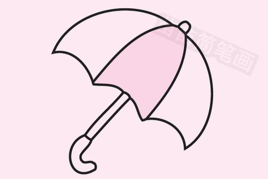 雨伞简笔画图片大全作品五