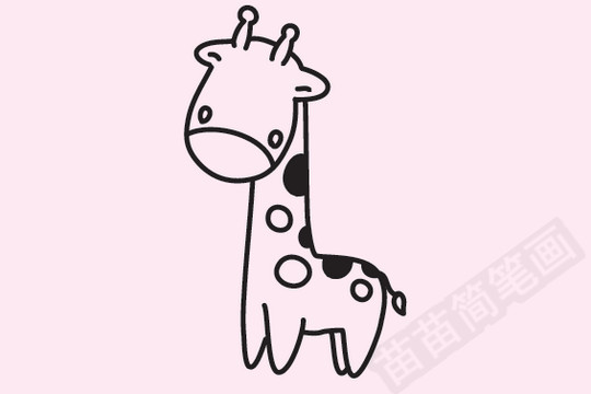 简笔画 动物简笔画 野生动物简笔画 >> 正文内容   长颈鹿小知识:长颈