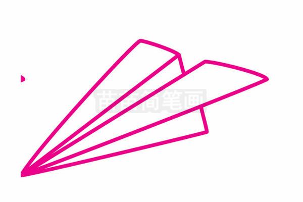 纸飞机简笔画图片大全 教程