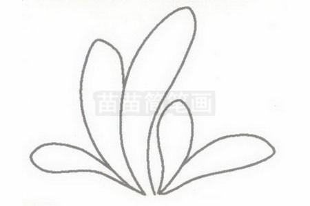 小草简笔画简单画法