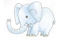 大象简笔画简单画法