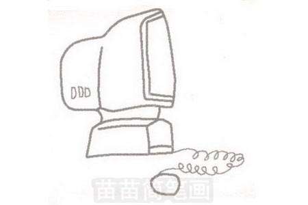 电脑简笔画简单画法