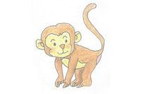 猴子简笔画简单画法