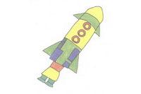 火箭简笔画简单画法