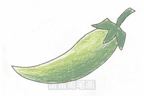 辣椒简笔画简单画法