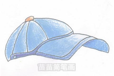 帽子简笔画大图