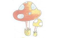 蘑菇简笔画简单画法