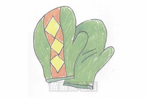 手套简笔画大图