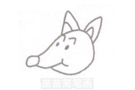 松鼠简笔画简单画法