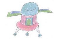 探测器简笔画画法教程