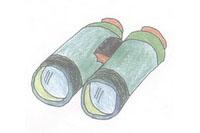 望远镜简笔画简单画法