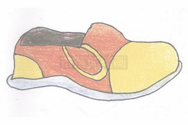 鞋简笔画简单画法