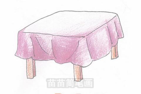 桌子简笔画大图