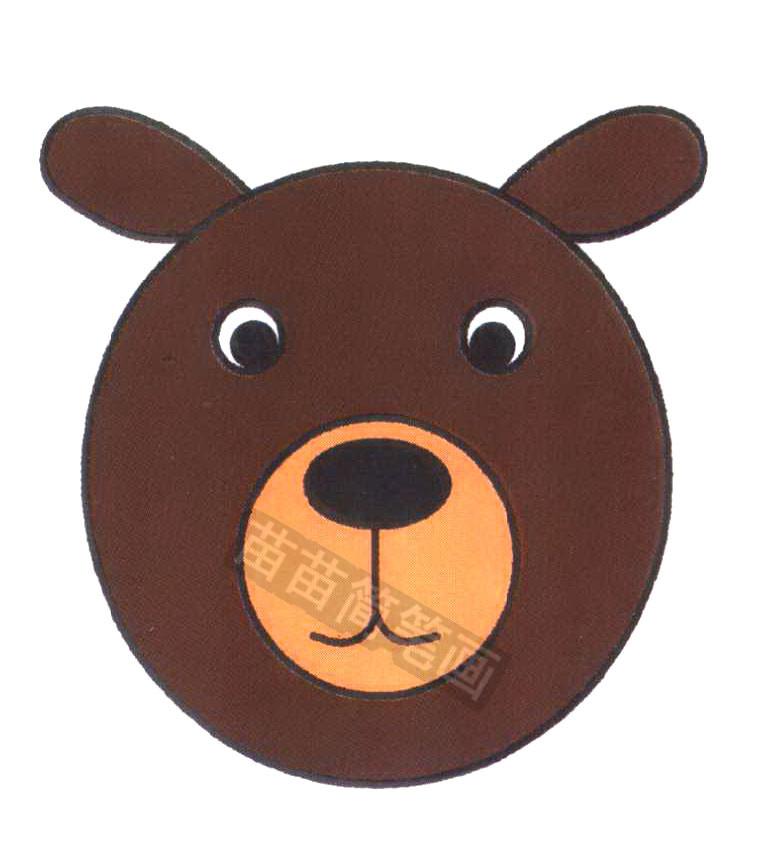 狗熊简笔画怎么画