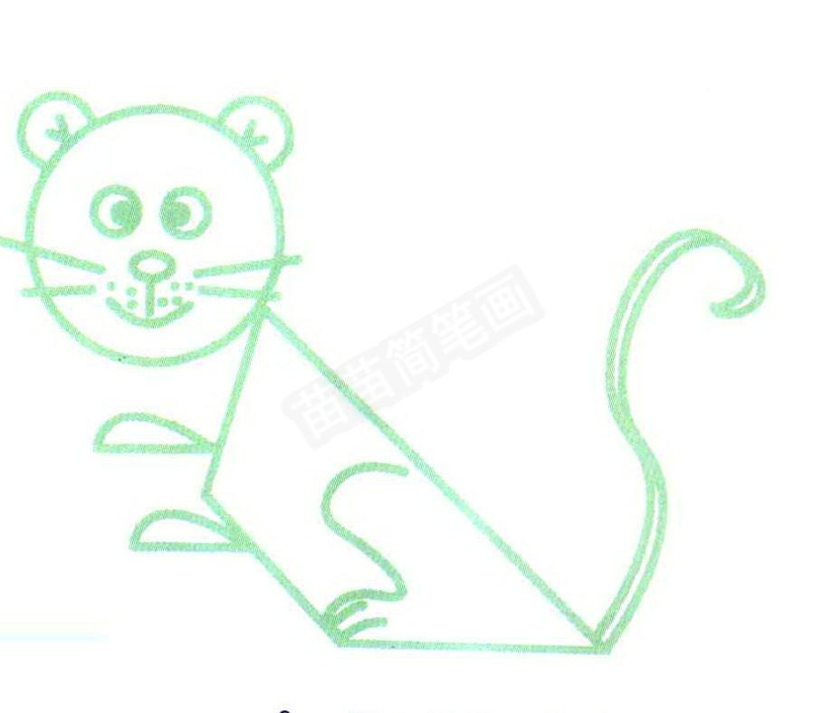 豹子简笔画怎么画