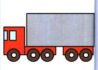 货车简笔画怎么画