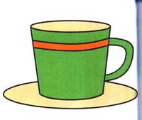 咖啡杯简笔画怎么画