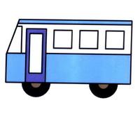 客车简笔画怎么画