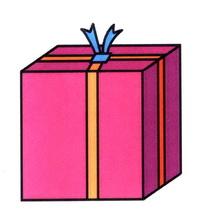 礼物盒简笔画怎么画