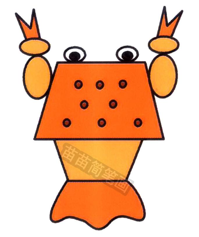 龙虾简笔画怎么画