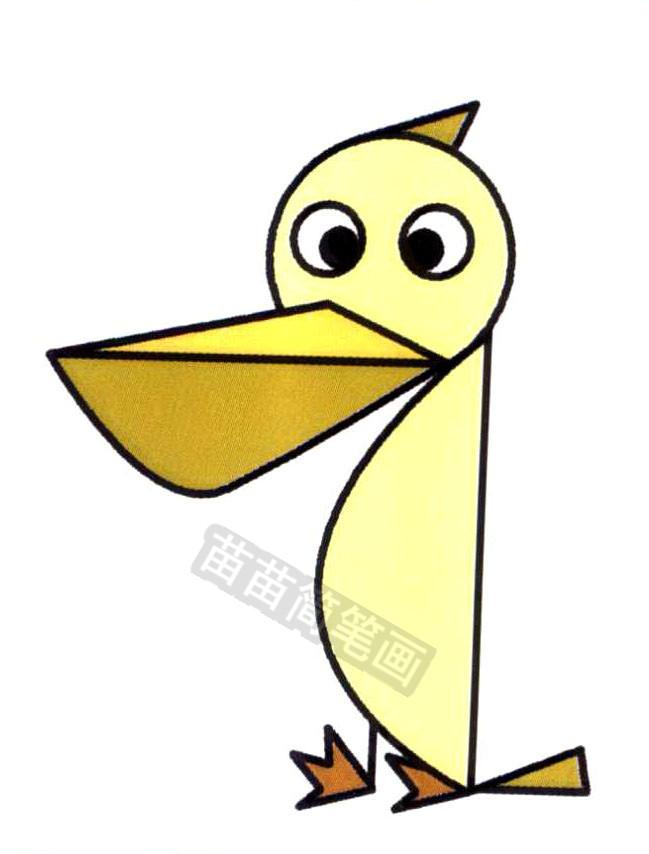 鸬鹚鸟简笔画怎么画