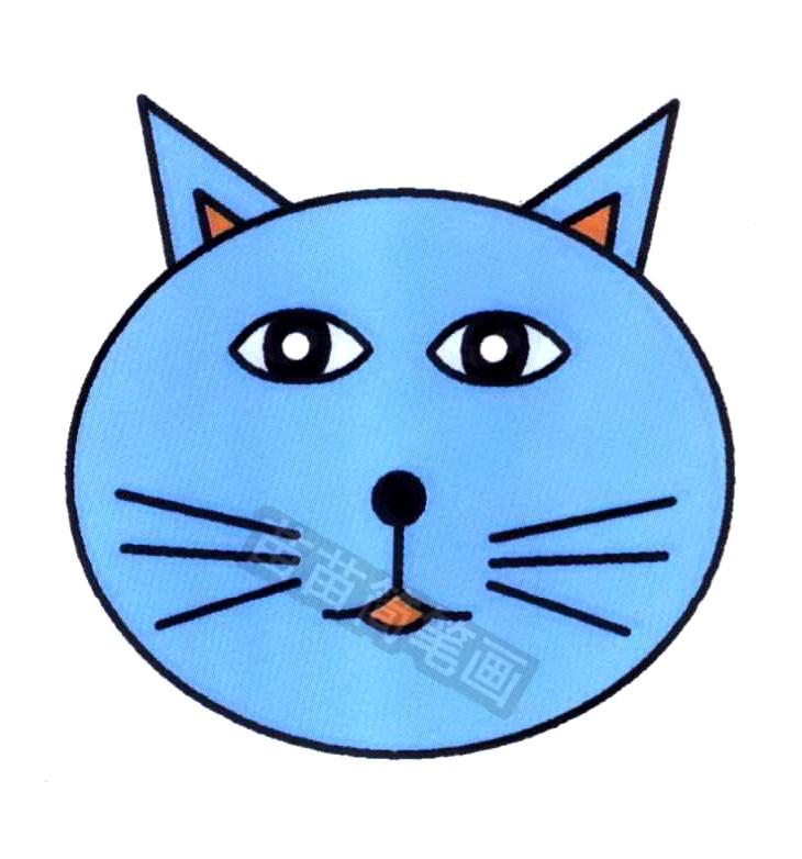 猫咪简笔画怎么画