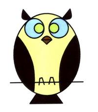 猫头鹰简笔画怎么画