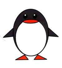 企鹅简笔画怎么画