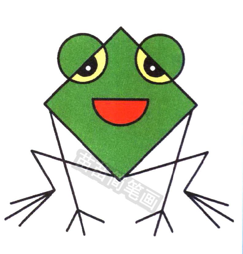 青蛙简笔画怎么画