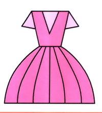 裙子简笔画怎么画