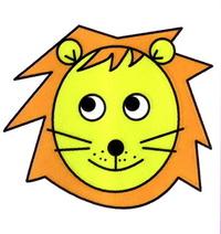 狮子头像简笔画怎么画