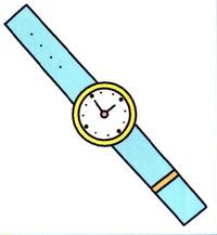 手表简笔画怎么画