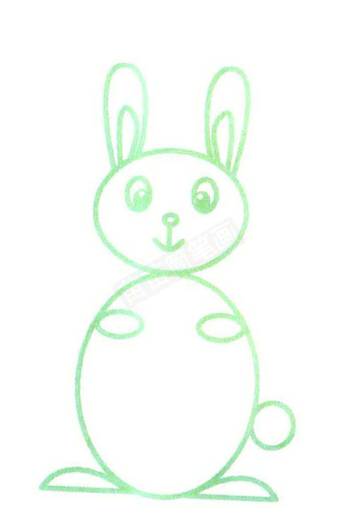 兔子简笔画怎么画