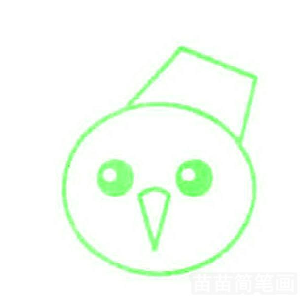 雪人简笔画怎么画