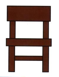 卡通椅子简笔画怎么画