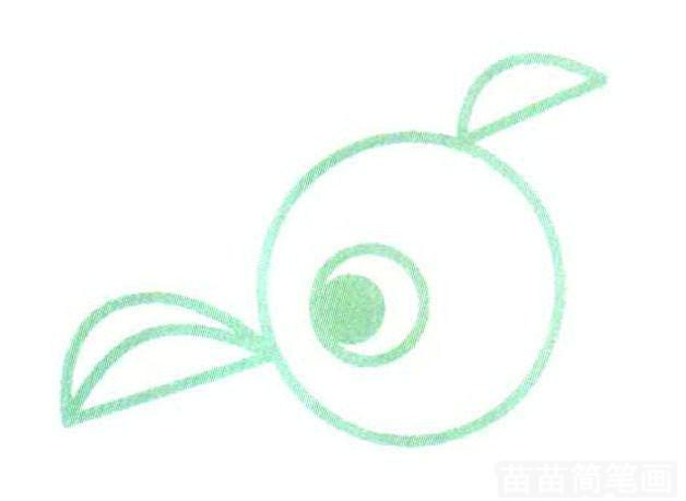 用图形组成的鹦鹉简笔画怎么画