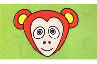 猴子简笔画怎么画