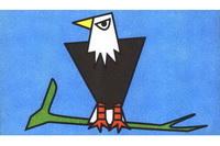 老鹰简笔画怎么画