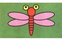 蜻蜓简笔画步骤分解彩色教程